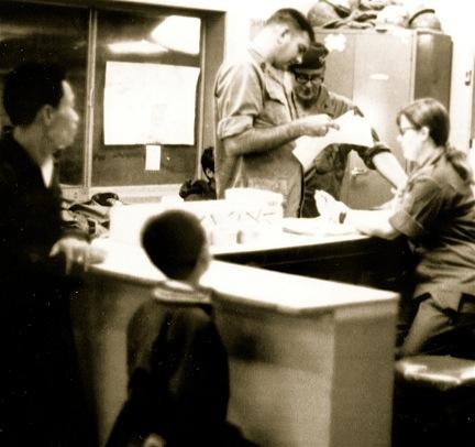 71st Evac ER, Sharon Grant, 1970