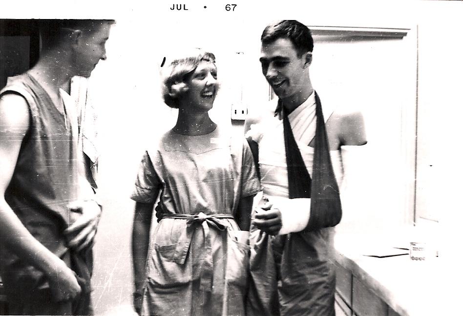 67th Evac, Carol Yauk Compton, 1967