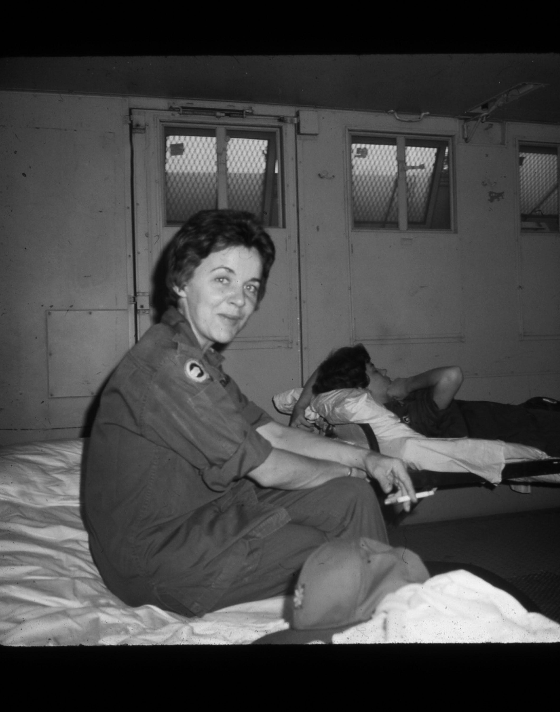 91st Evac, Fay Ferrington, 1970