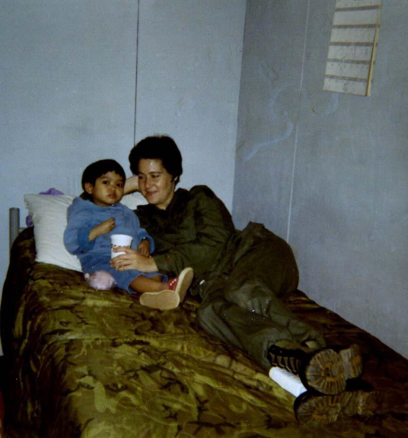 91st Evac, Jane Carlson, 1970