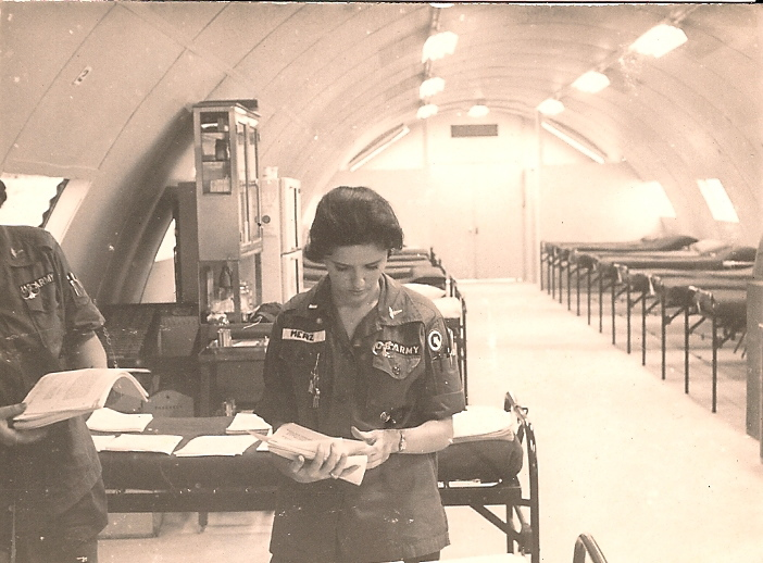 67th Evac, Amy Merz Johnston, 1966