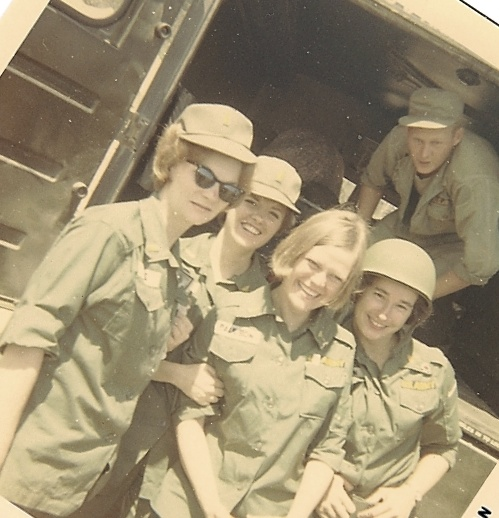 67th Evac nurses at 2nd Surg, AnKhe