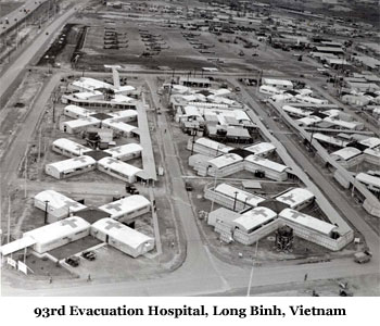 93rd Evacuation Hospital, Long Binh, Vietnam