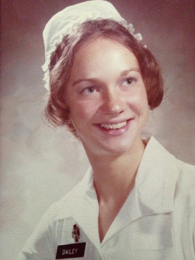 Jean Dailey as a WRAIN nursing student