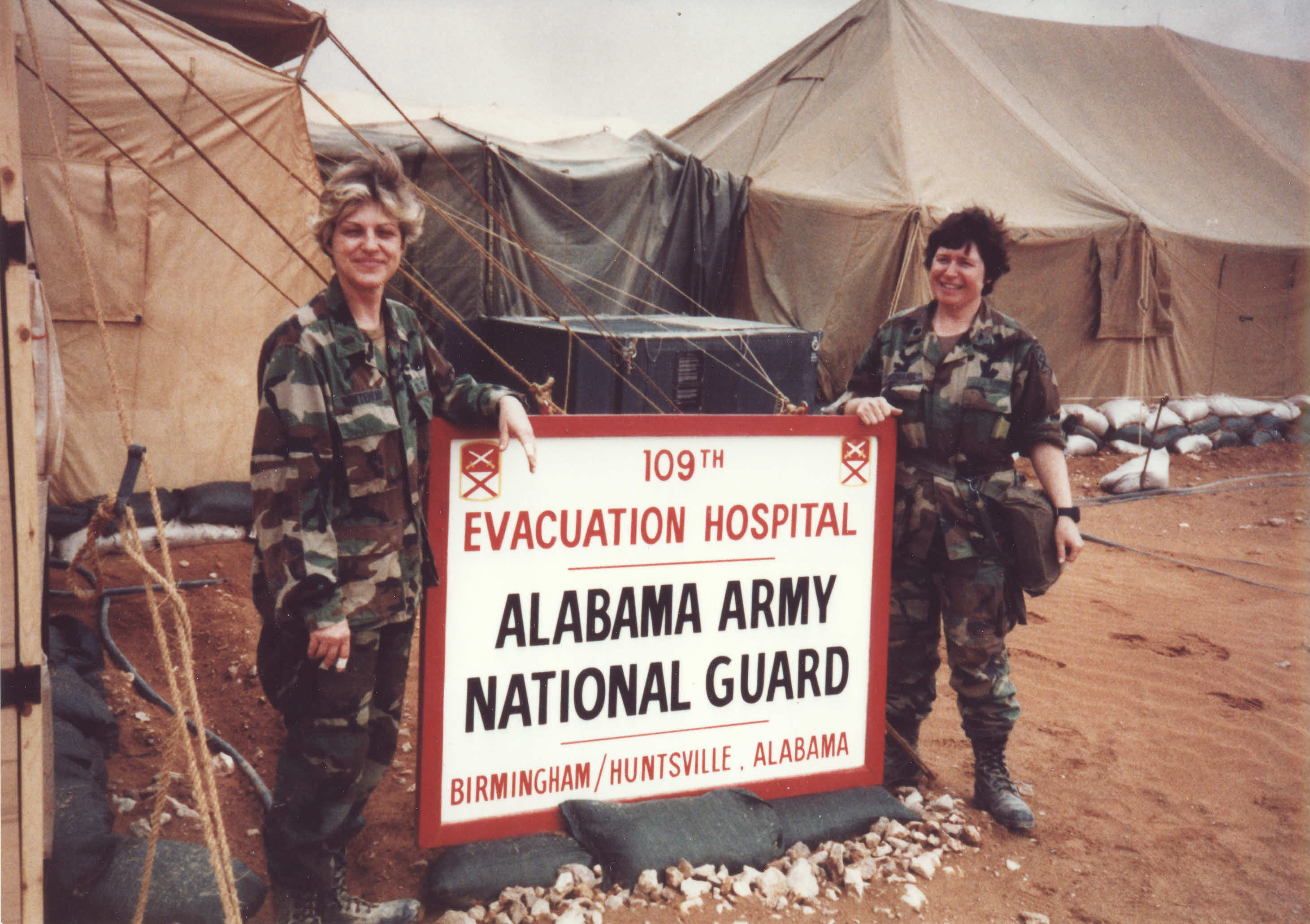 Army National Guard's 109th Evacuation Hospital