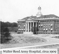 Walter Reed Army Hospital, circa 1909
