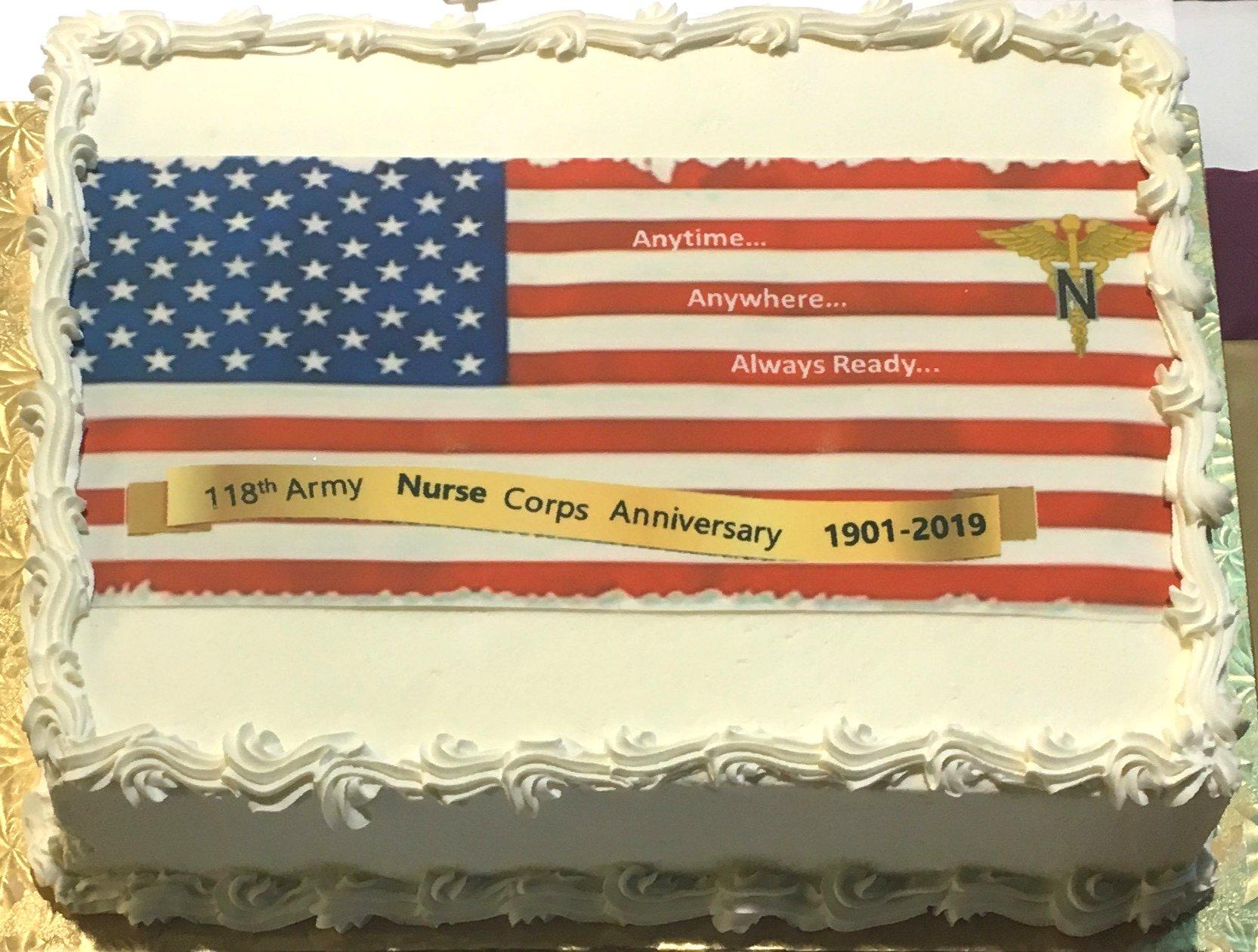 WRNMMC cake