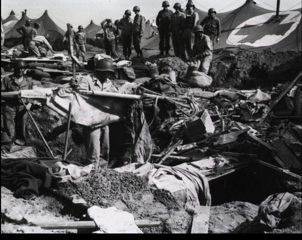 Destruction from German Bombardment