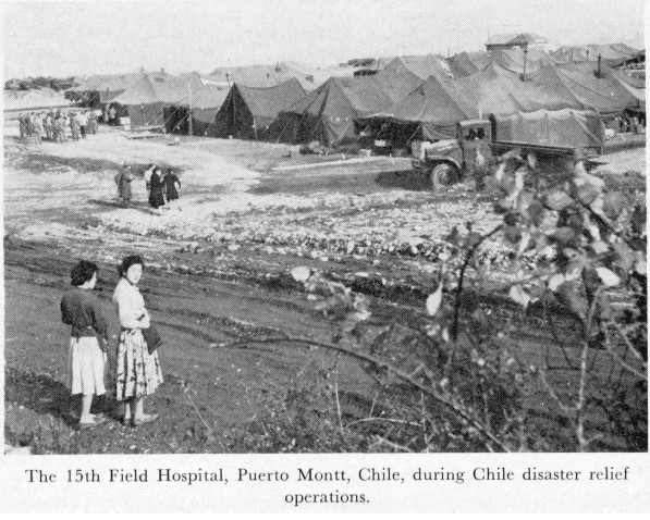 15th Field Hospital in Chile