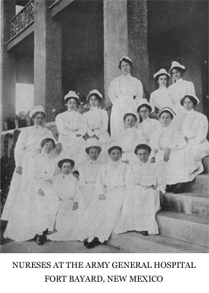 The Nurses at the Army General Hospital, Fort Bayard, New Mexico
